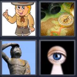 4 Fotos 1 palabra nivel 976